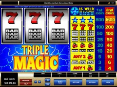 Triple Magic - Quickfire