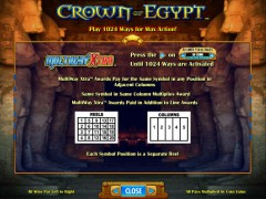 Crown Of Egypt hazardowemaszyny.com IGT Interactive 2/5