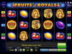 Fruits and Royals hazardowemaszyny.com Novoline 1/5