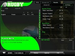 Virtual Rugby - 1X2gaming